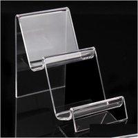 10 * 7 * 11.5 cm porta cellulare cellphone trasparente braccialetti acrilici braccialetti orologio portafoglio portafoglio portabicchieri con un nuovo design Nice A90 cfb8p