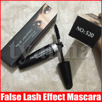 M Makeup Mascara False Lash Effect Full Lashes Natural Mascara Svart Vattentät M520 Eyes Make Up