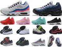 عالية الجودة 2020 og وسادة البحرية الرياضة chaussure 95s المشي أحذية الرجال الاحذية وسادة النساء أحذية رياضية