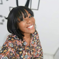 MANTENIMIENTO MODERNO SHORT BOB WIGS CON FINGS Pelucas de cabello humano recto para mujeres negras Máquina llena Pelucas de no encaje Color natural No Remy