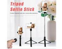 Perakende Box ile Bluetooth Uzaktan Shutter ile XT10 Bluetooth Selfie'nin Çubuk Mini Tripod Selfie'nin Çubuk Uzatılabilir El Otoportre