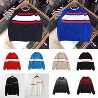 21ss мужские женские дизайнеры свитера люкс буквы пуловер мужские капюшоны с длинным рукавом активная толстовка вышивка трикотаж зимняя одежда 2021