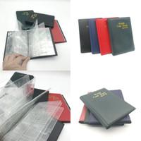 Ciężkie monety do przechowywania Książka do przechowywania Książka 120 Grides Clear PVC Monety Posiadacze Prezenty Światowe Monety Zasoby Fit Study Dekoracja 5 5ym E1