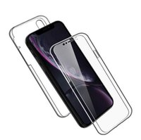 360 Full Body Hybrid Shockproof TPU PC Clear Phone Case Protective Cover for iPhone 12 Mini Xs XR 11 Pro Max 8 7 6 Plus SE 2020