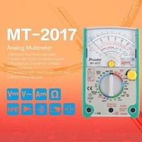 Proskit MT-2017 AC / DC التناظرية الرسم البياني مؤشر متعدد مقياس مقياس المقاومة السعة ديود فولت أمبير أوم hfe led meter1