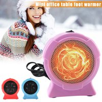 Hot New US Plug Portable Handy Heater Durable Mini Personal Ceramic Space Heater Electric Winter Warmer Fan HY99 OC06