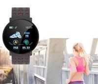 Hot 119 Plus Smart Armband Herzfrequenz Smart Watch Mann Armband Sport Uhren Band Wasserdichte Smartwatch Android mit Wecker