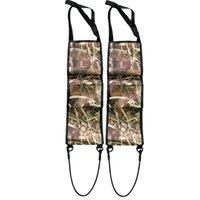 Портативные задние сиденья пистолет SLING RAIL RIFLE RAWGUN хранения AMMO Pickup Camo Truck держатель открытый тактический охотничий подвесную сумку