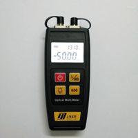 Kostenloser Versand Mini Faser Tester Optisches Leistungsmesser mit visuellen Fehler Locator OPM VFL 50MW 30MW 10MW 1MW Faseroptiklaser1