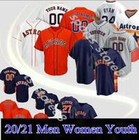 2020 Houston Männer Frauen Kinder Astro 27 Jose Altuve Jersey George Springer Michael Brantley Yuli Gurrriel Alex Bregman Baseball Trikots