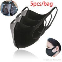 5pcs / sac PM2.5 Masque de protection anti-poussière anti-poussière Femmes Femmes Hommes Enfant Dustoutes Masque d'hiver Faire face à la bouche Masques Boom2016