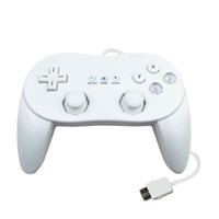 New Pro Classic Game Controller Pad Console Joypad per Wii Remote, Classic Game Controller per Wii White