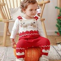 المرأة حللا السروال القصير 1 قطعة عيد الميلاد الأيائل pattren أطفال الأطفال سترة الملابس الدافئة
