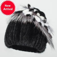 The new HF7056 winter lady fur hat is a real mink hat and a ...