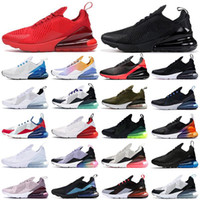2021 Neue 270 Laufschuhe triple schwarz weiß rot Frauen Männer Chaussures Be True Bred BARELY ROSE Herren Trainer Outdoor Sports Turnschuhe