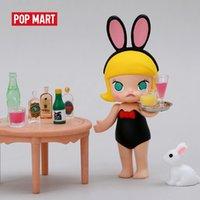 Pop Mart Molly 12 Giocattoli dello zodiaco cinese Figura Blind Box Regalo di compleanno spedizione gratuita Y0112