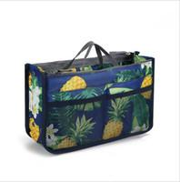 حقائب التجميل حقائب السفر إدراج متعددة الوظائف حمل حقيبة في أكياس أدوات الزينة المنظم ماكياج التخزين حقيبة الأزياء المحمولة عارضة WMQ495