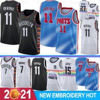 NCAA Kevin Durant 7 Kyrie Irving 11 Mens Brooklyn