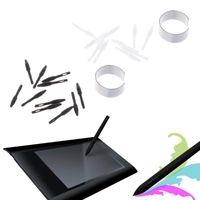 10 pièces de rechange Pen Nibs Conseils Pen Juste pour Huion Digital Graphics Tablet