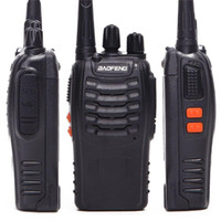 50pcs New Walkie Talkie Two 2 Way Radio Transceiver Handheld Interphone Intercom BF-888S 3-5KM Talk Range