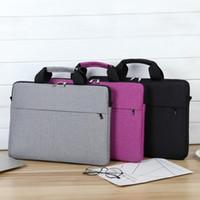الرجال حقائب حقيبة كمبيوتر محمول النساء الداخلية حقيبة في 13inch 14inch 15.6inch رقيقة جدا الدفتري الكتف حقيبة