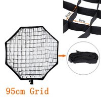 Fotostudio 95cm Octagon Softbox Grid Honeycomb für Fotografie Studio Soft Box1