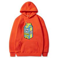 Lirik Limonata Büyük Boy Hoodie Sweatshirt Kpop Erkek / Bayan Tam X1022 için 2020 Komik Hoodie Pamuk Uzun Kollu Kapşonlu Sweatershirt