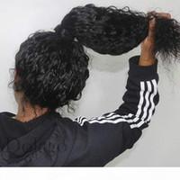 مجعد 360 الدانتيل الأمامي الباروكة مع شعر الطفل موجة عميقة شفافة كامل الدانتيل الشعر البشري الباروكات 370 وهمية فروة الرأس الدانتيل الجبهة الباروكة