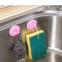 2 PCS Cuisine Toilette Intransalité Crochet Aspirateur Sucker Flying Sauceur Multi Fonction Crochets Organisation du ménage Outils 0 8bz H1