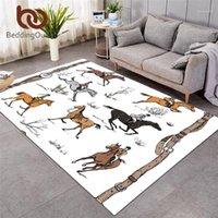 Кнопочковые конные ковры Большие ковры для гостиной Англия Традиция Традиция Верховая верховая верховая верховая верховная коврик для животных Спортивная площадь Коврик 152x244см1