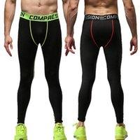 Erkek Pantolon Monerffi Erkekler Basketbol Spor Koşu TIG Sıkıştırma Koşu Tayt Spor Giyim Yoga Pantolon Eğitim Giyim1