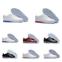 cortez Chaussures de course classiques Cortez Chaussures Casual noir blanc rouge bleu léger en cuir cortez hommes baskets de sport pour femmes