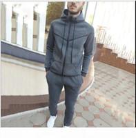 Модный дизайнер Couscsuit Весна Осень Повседневная Унисекс Бренд Спортивная одежда Костюмы высокого качества Толстовки Мужская одежда