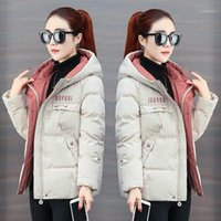 2020 new down padded jacket women autumn loose bread jacket ...