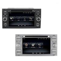 Auto Video 7 pollici Android 8.1 2 + 32G Navigazione GPS 2 DIN DVD Radio Player per Mondeo Focus C-Max Galaxy Fiesta Form Fusion1