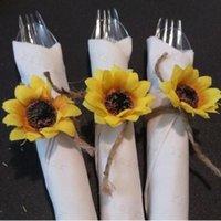 단일 해바라기 테이블 장식품 케이크 아트 공예 장식 시뮬레이션 꽃 결혼식 축하 가짜 해바라기 홈 새로운 도착 0 1YS G2