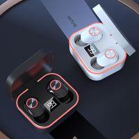 M8 TWS Bluetooth беспроводной наушники сенсорное управление водонепроницаемыми спортивными гарнитурами наушники VS F9 для iPhone 11 12 Samsung S10 универсальный