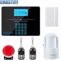 Sistemas de alarma G3B Zonas inalámbricas Control de aplicaciones Sistema GSM con pantalla táctil Pantalla LCD Puerta de inicio / Sensor de movimiento PIR