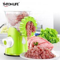 TNTON VIDA New Household multifunções moedor de carne de alta qualidade inoxidável Lâmina Home Cooking Máquina Mincer salsicha Máquina