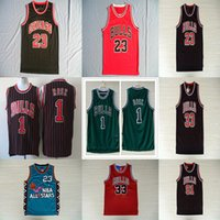 NCAA 23 Michael Basketball Jersey Scottie 33 Pippen Dennis 9...