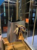 Sciarpe di seta libera Borse a tracolla da donna Secchio da donna Escale Neonoe Crossbody Borsa in vera pelle Borse regolabili Cinturino regolabile Borse a tracolla