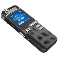 Freeshipping WAV Profesyonel Dictaphone Ses Aktif Mini Dijital Ses Kaydedici Kalem 8 GB PCM Kayıt Çift Mic Denoise Hifi MP3 Çalar