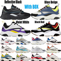 2021 di alta qualità verde B22 sneaker scarpe da ginnastica in pelle di vitello uomini donne scarpe casual scarpe da esterno sneaker all'aperto retrò patchwork casual sneaker con scatola