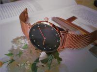 Rose Gold New Hombres Ver Gentorios Relojes de Lujo Mujeres Moda Moda Reloj de pulsera 32mm 40mm Mujer Relogio Montre Reloj masculino