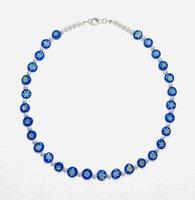 Chaokers Boho Femmes Bleu Pour femmes Naturel Eaules d'eau douce Harry Harry Styles Inspirés MilleFiori Verre Collier 2021