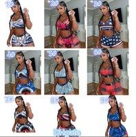 Kadınlar Ethika Tasarımcı Mayo 2 Parça Bikini Set Yelek Tank Top Sutyen Ve Şort Yüzme Takım Elbise Lüks Köpekbalığı Mayo Marka Beachwear C06