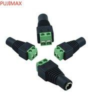 DC السلطة أنثى جاك موصل المقابس ل 3528 SMD 5050 SMD LED قطاع الضوء 5.5 × 2.1mm