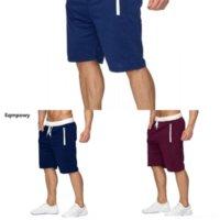 WFH Mens 반바지 야외 의류 멀티 포켓 스트레이트 캐주얼 스포츠 반바지 남성 패션 패션 짧은 짧은 homme de ropa