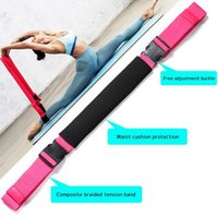 Yoga Pull Strap Belt Polyester Latex Elastic Latin Dance Str...