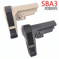 SBA3 Back Back Support Nylon et Reliure en caoutchouc Support à la main Support de queue Slrar Jouets de haute qualité